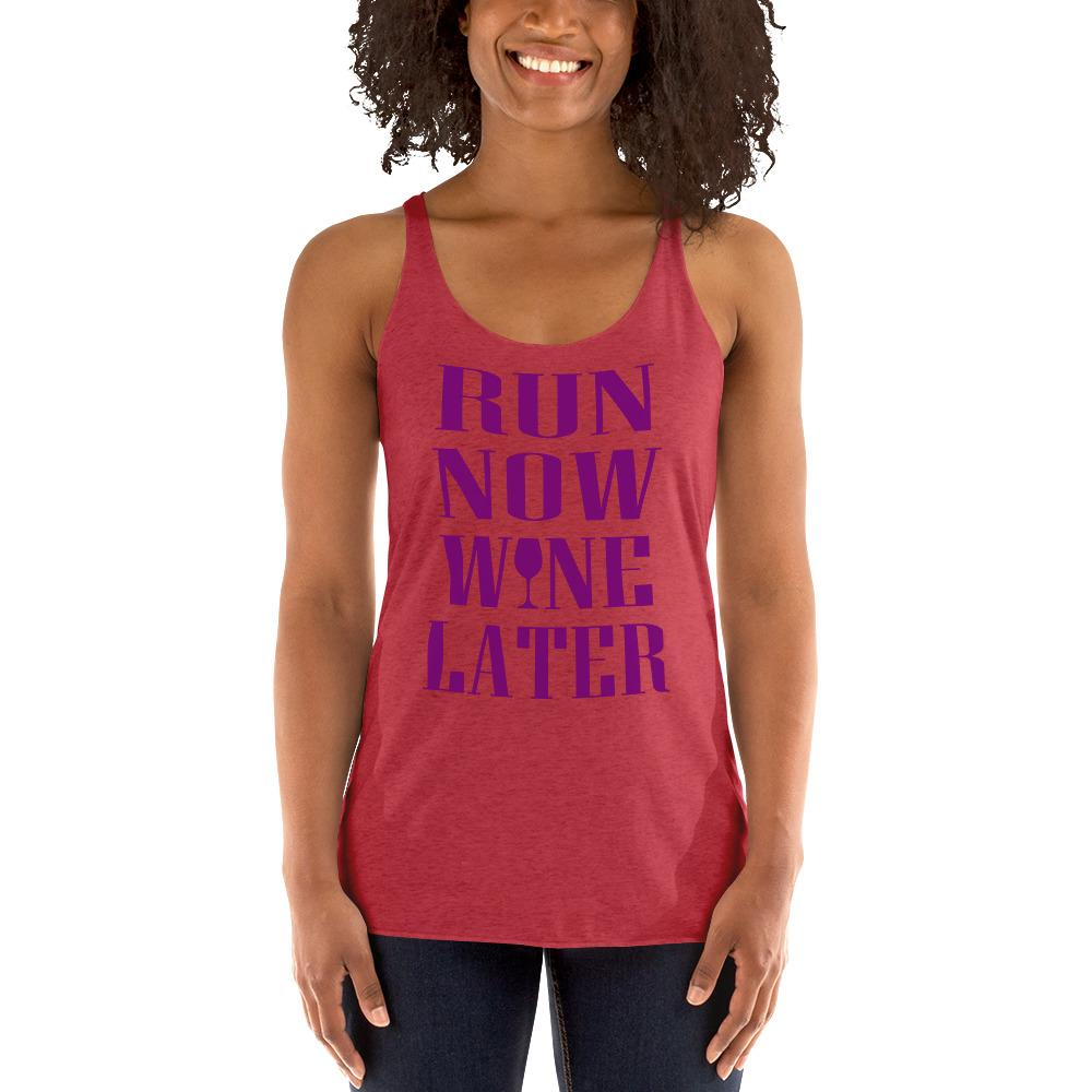 Run now, Whine Later Women's Tank Top Chiro's Vintage Red XS