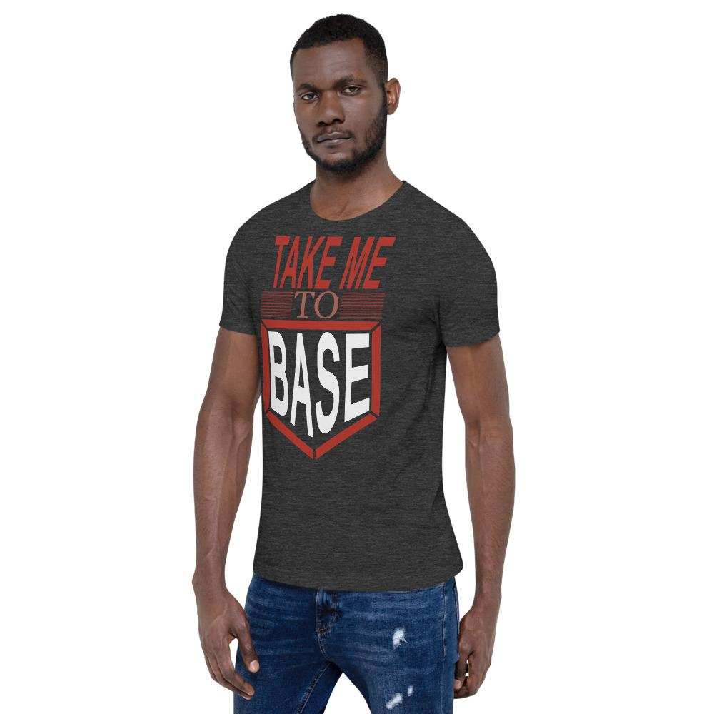 Take me to base Men's T-Shirt Chiro's