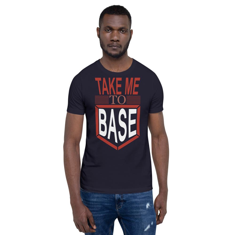 Take me to base Men's T-Shirt Chiro's Navy XS