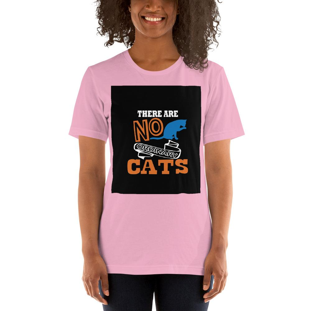 There are no ordinary cats Women's T-Shirts Chiro's Lilac S