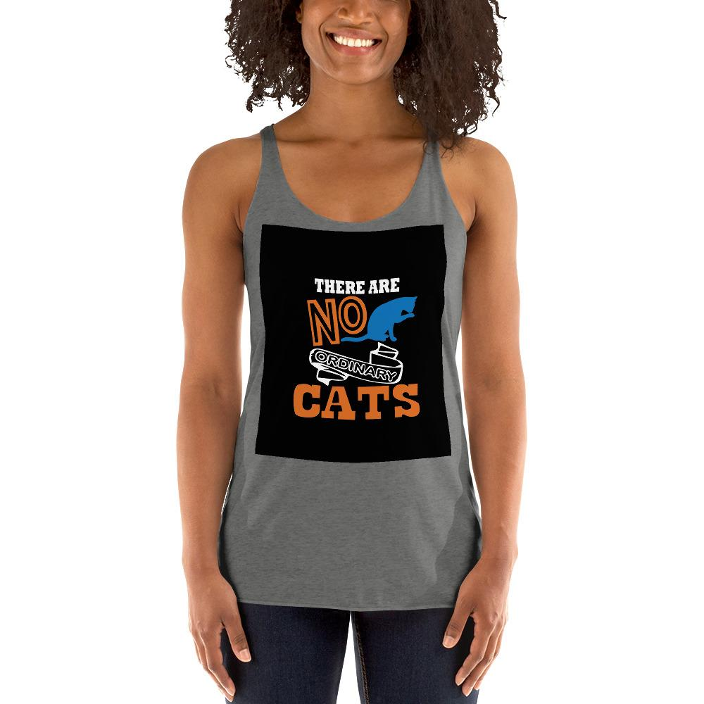There Are No ordinary Cats Women's Tank Top Chiro's Premium Heather XS