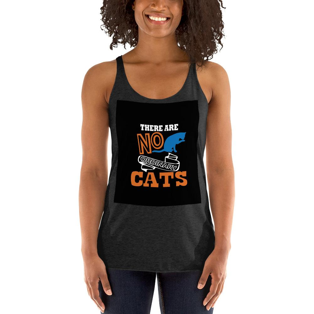 There Are No ordinary Cats Women's Tank Top Chiro's Vintage Black XS