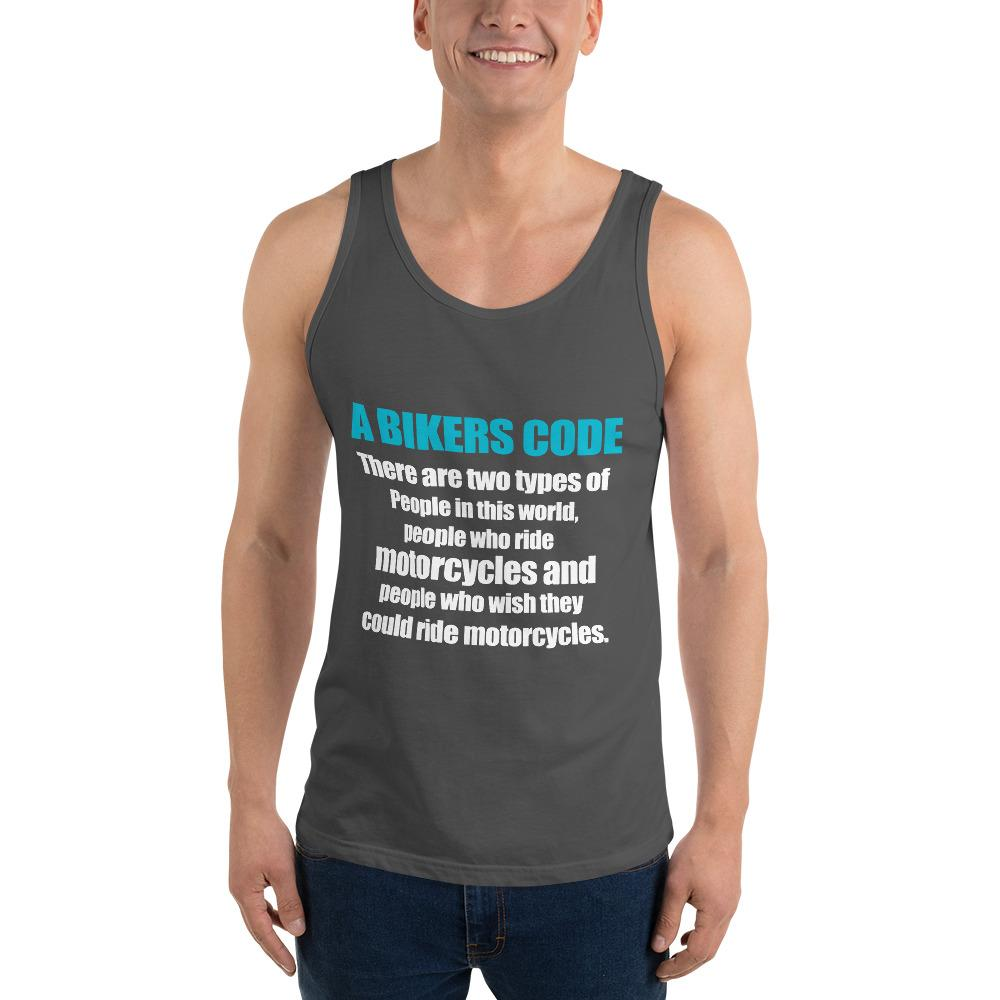 There Are Two Types Of People Tank top Biker Chiro's Asphalt XS