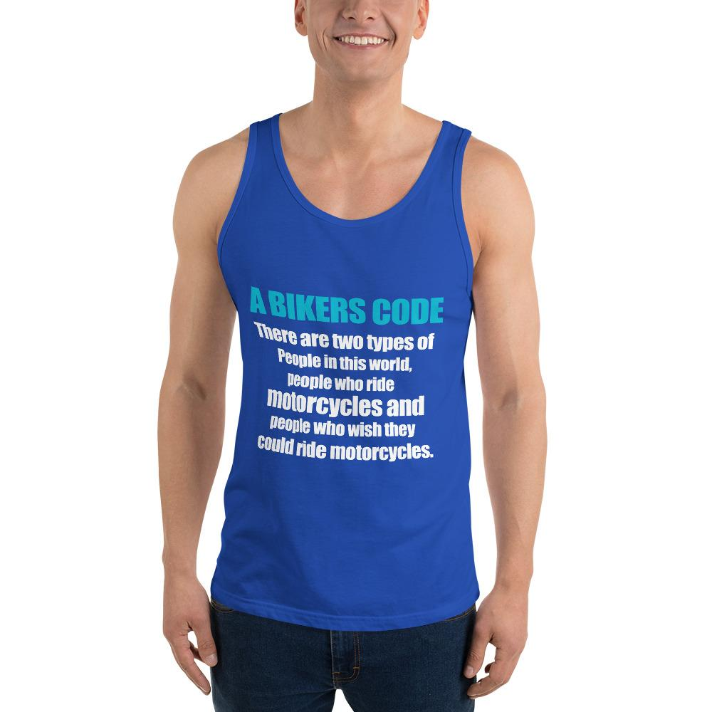 There Are Two Types Of People Tank top Biker Chiro's True Royal XS