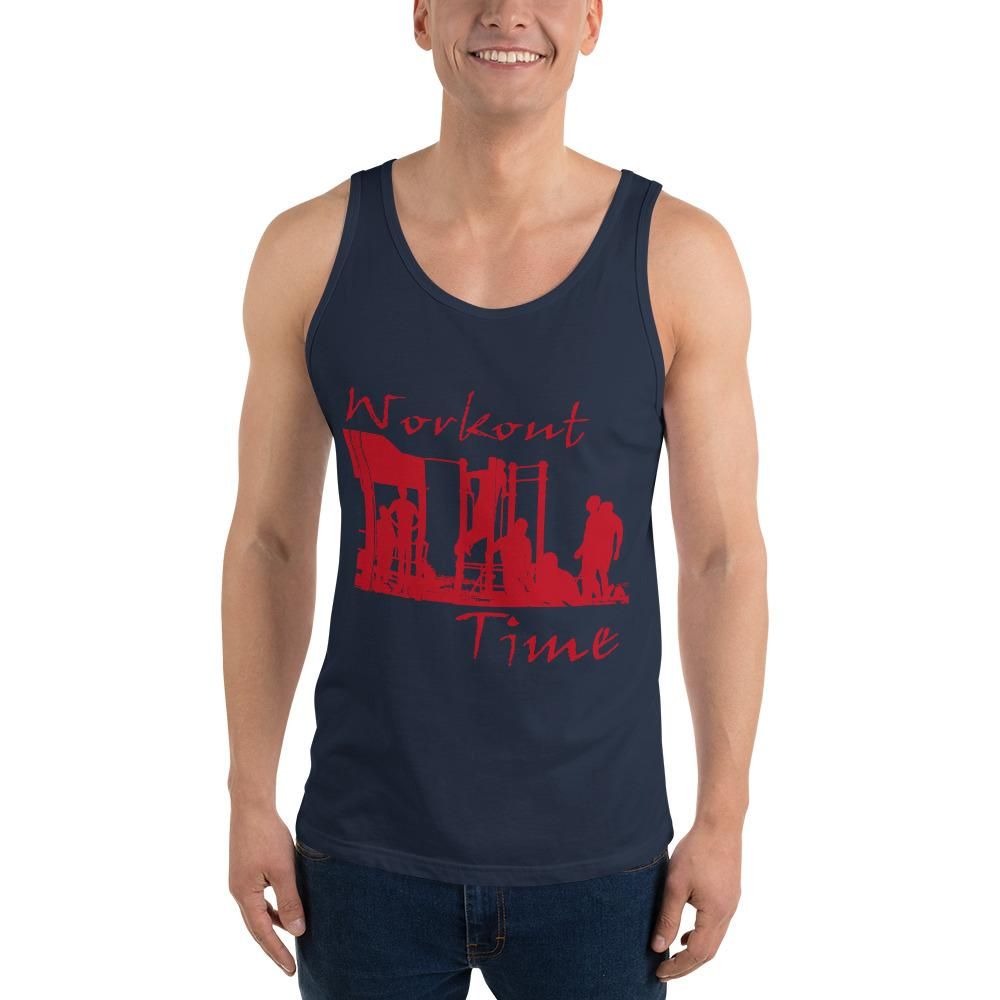 Workout Time Tank Top Chiro's Navy XS