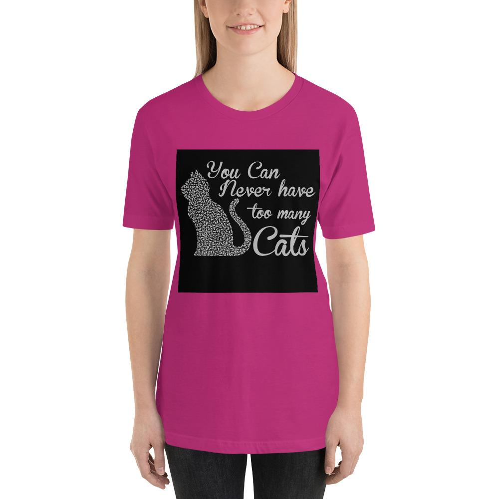 You can never have too many cats Women's T-Shirt Chiro's Berry S