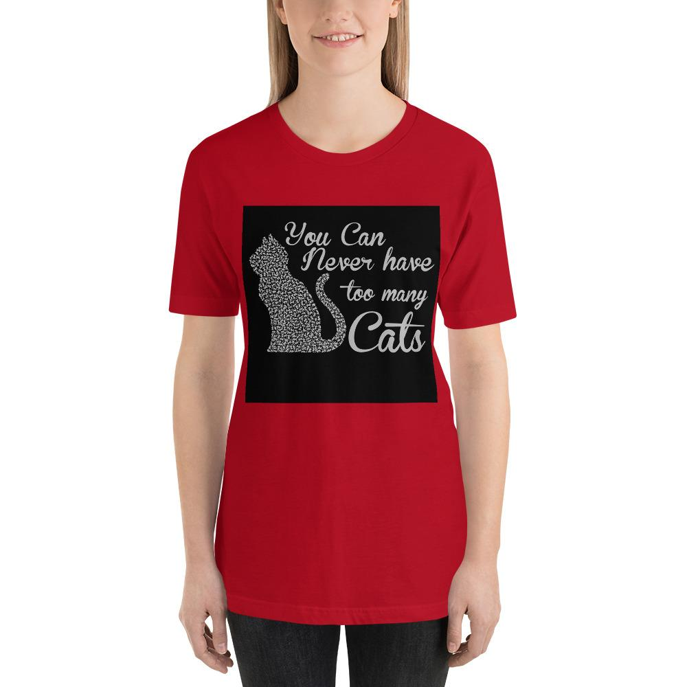 You can never have too many cats Women's T-Shirt Chiro's Red S