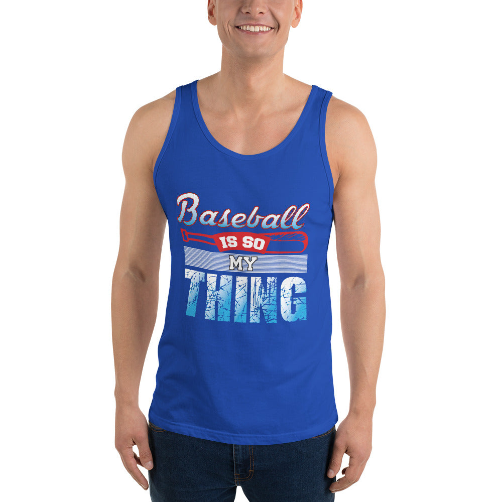Baseball Is My Thing Men's Tank Top
