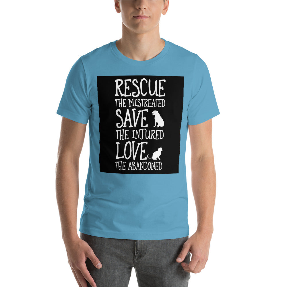 Rescue The Mistreated Men's T-Shirt