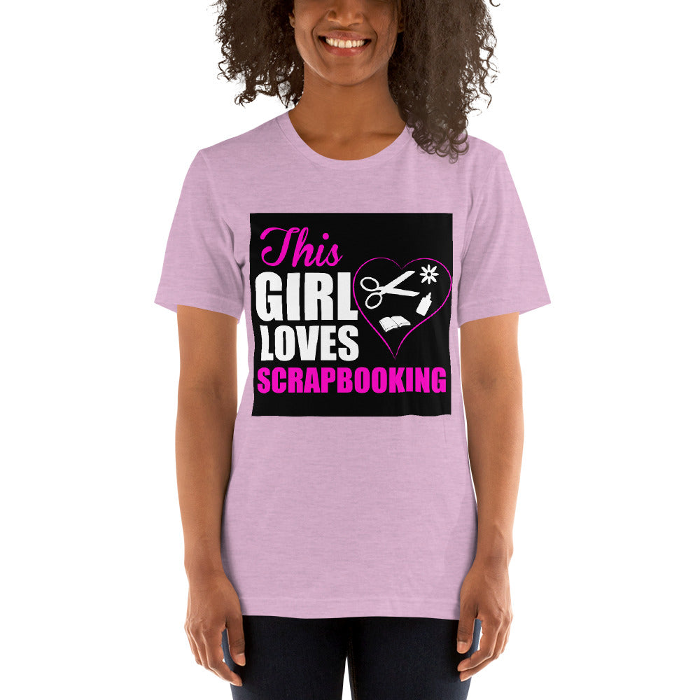 This Girl Loves Scrapbooking Women's T-Shirt