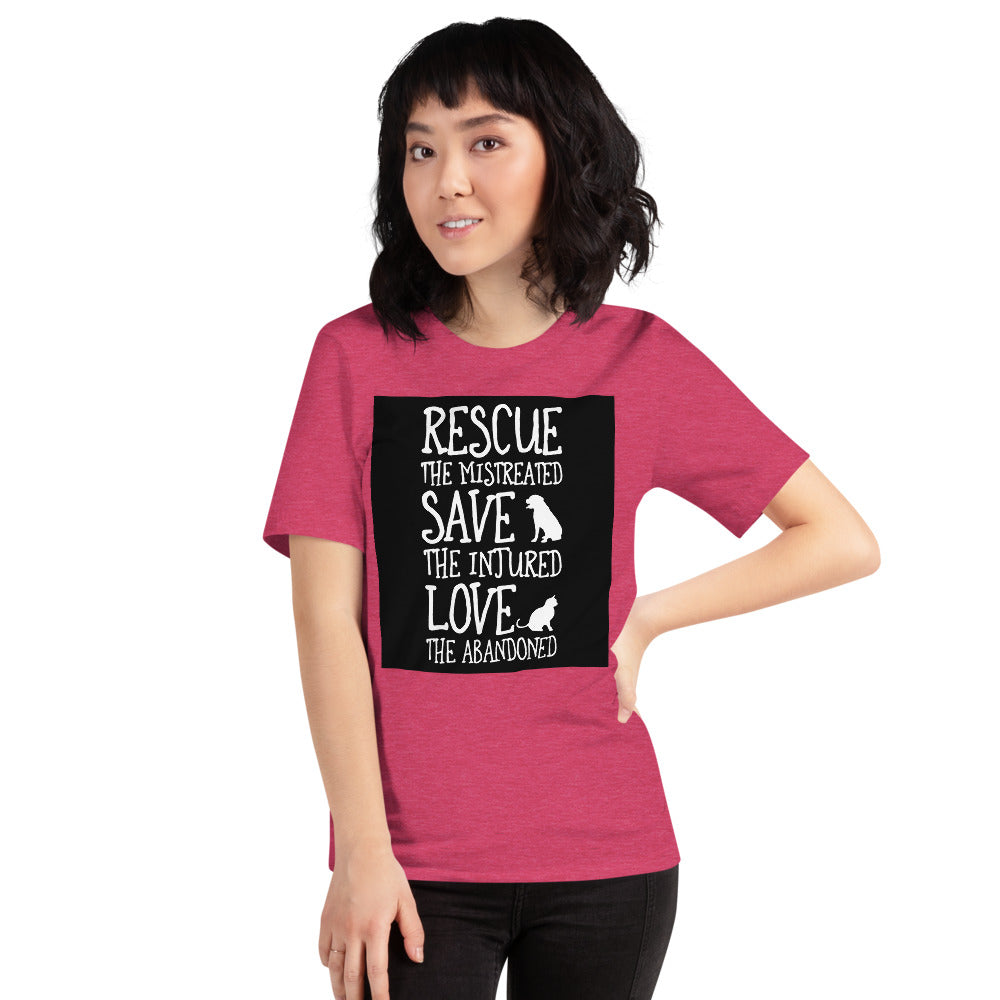 Rescue The Mistreated Women's T-Shirt