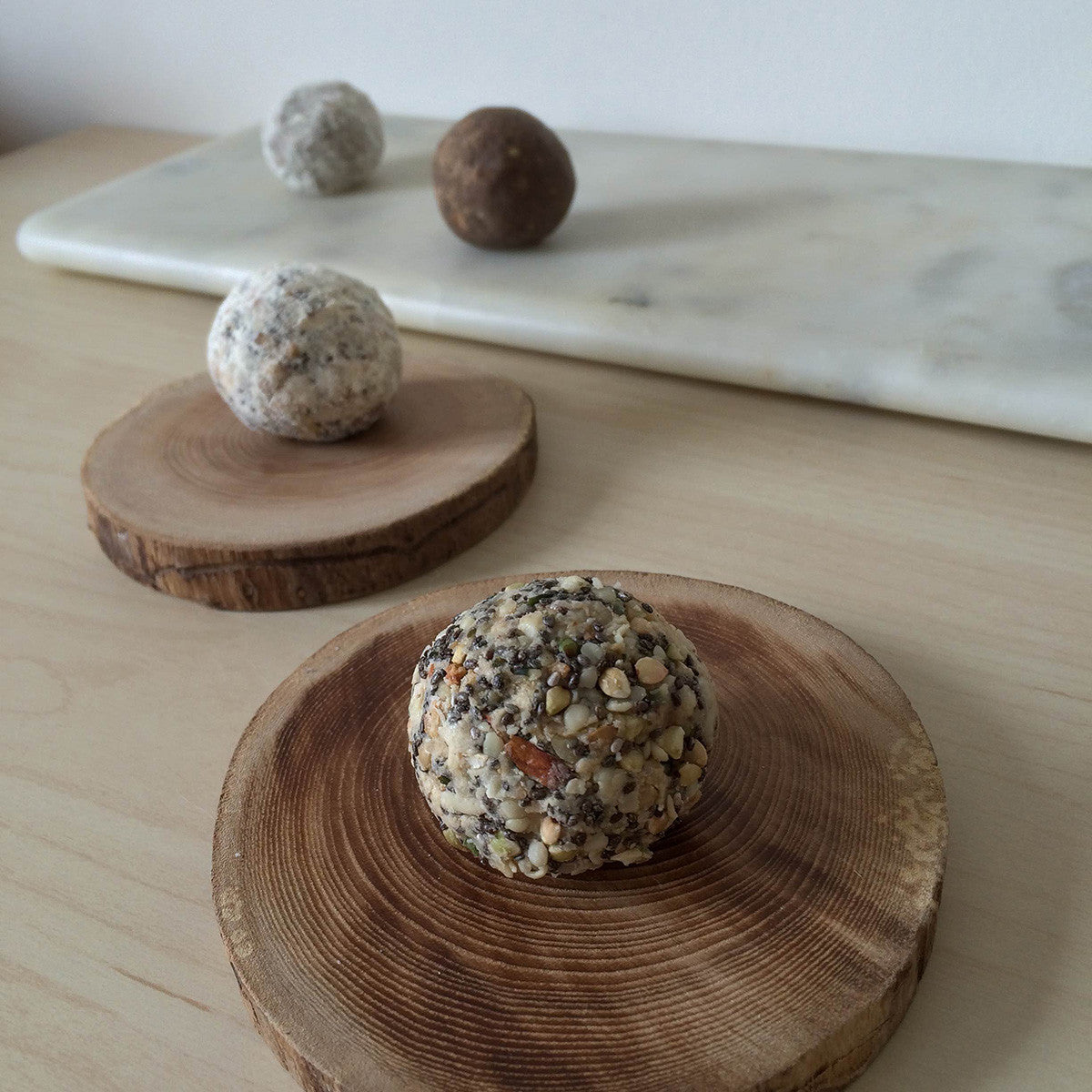 Power Up Vegetarian Protein Ball recipe