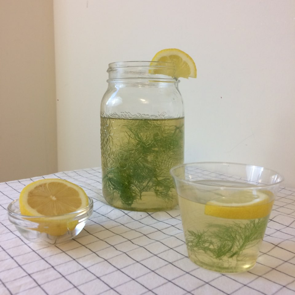 European Summer Iced Tea (feat. Fennel Leaves, Honey)