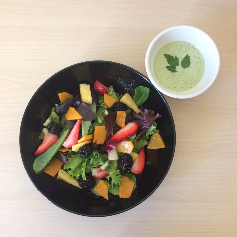 Hemp Dressing for Squash Salad (alternative for caesar dressing, vegan caesar, vegetarian salad dressing)