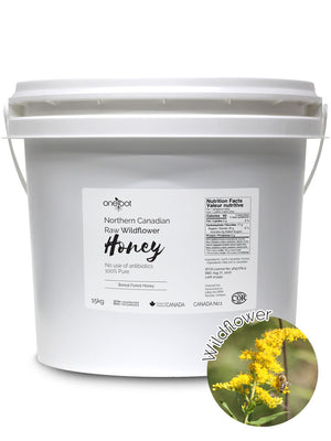 Natural Raw Wildflower Honey - 15kg