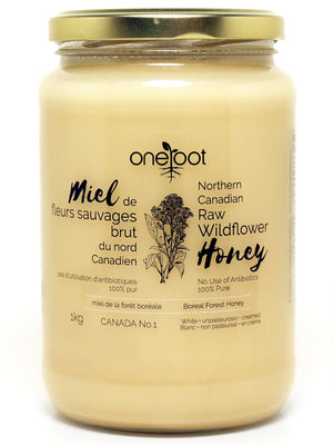 Natural Raw Wildflower Honey - 1kg