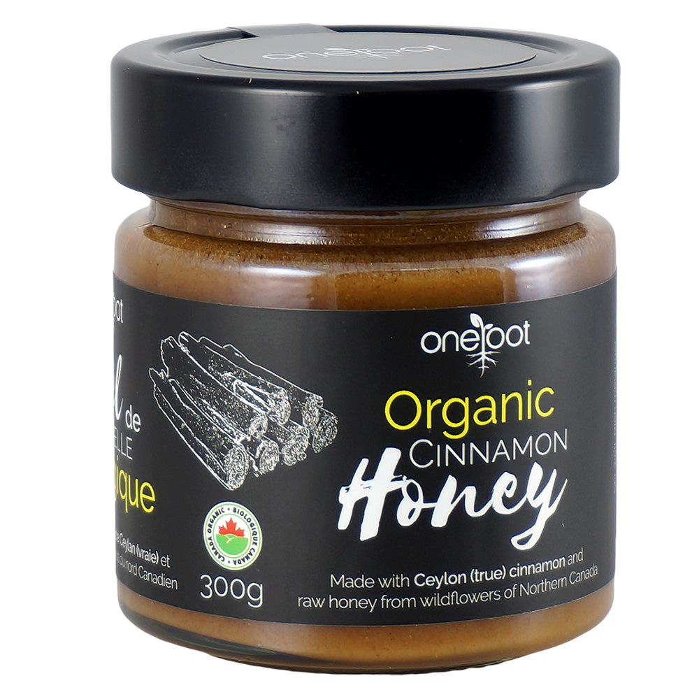 Organic Ceylon Cinnamon Honey - 300g