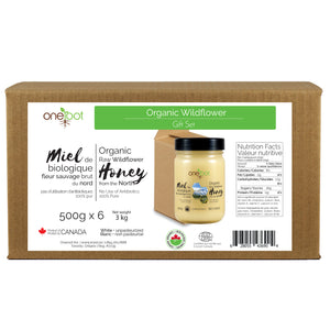 Organic Honey Gift Box - 500g x6