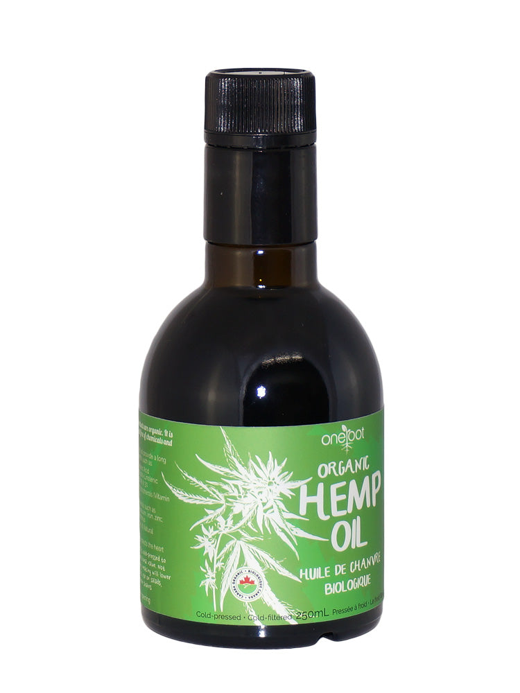 Organic Cold Pressed Hemp Oil - 250ml