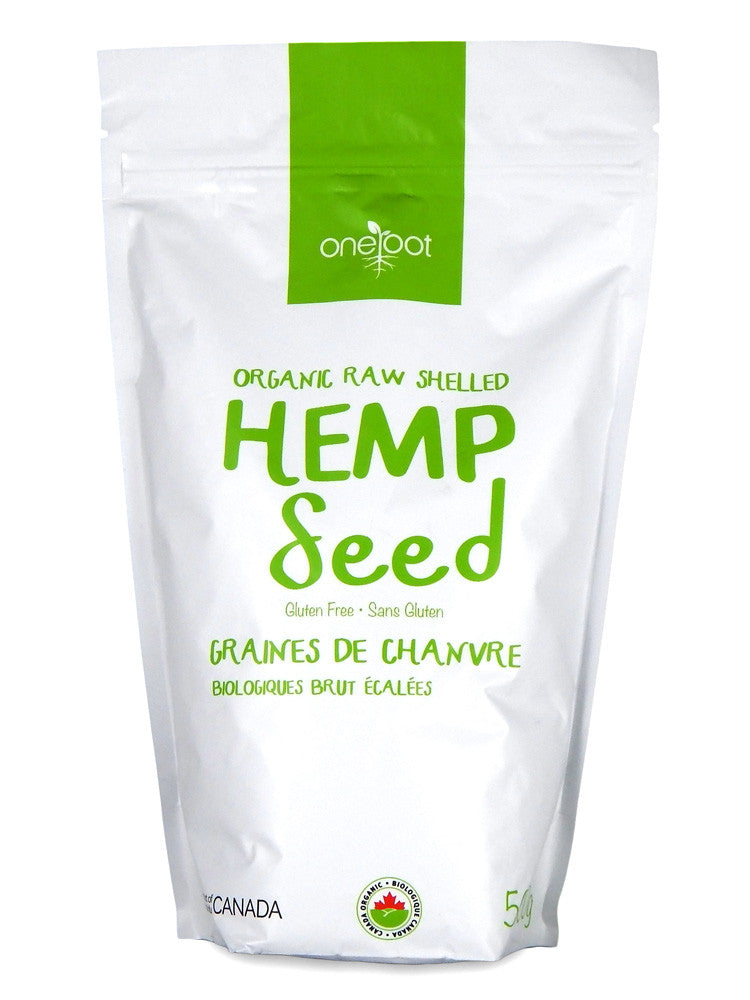 Organic Raw Shelled Hemp Seeds - 500g