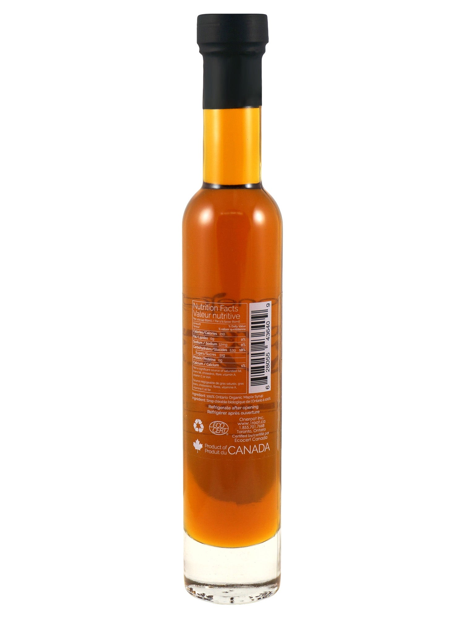 Organic Maple Syrup - 200mL