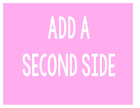 Add A Second Side