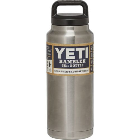 Powder Coated Yeti Water Bottle 36 ounces