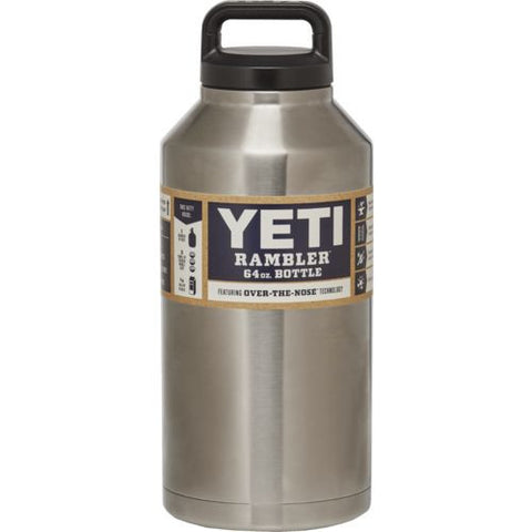 Powder Coated Yeti Water Bottle 64 ounces