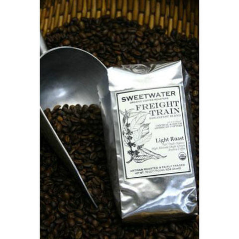 Freight Train Organic Coffee 12oz Ground - Sweetwater Coffee