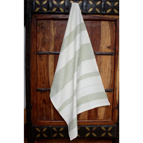 Leaf Cotton Kitchen Towel - Sustainable Threads (L)