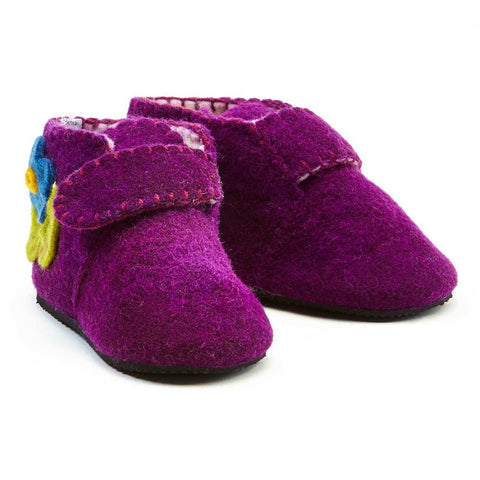 Purple Toddler Zooties - Silk Road Bazaar