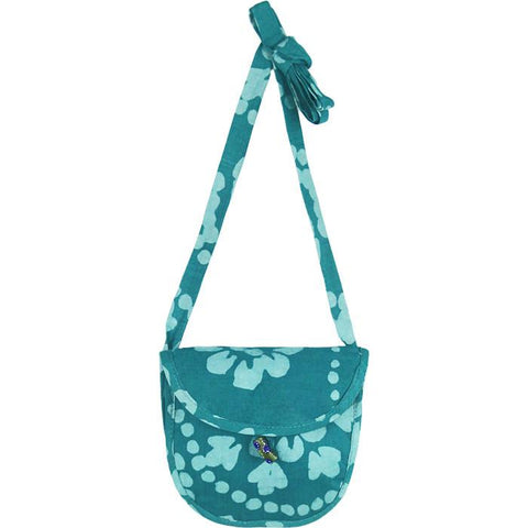 Minimalist Bag Paisley in Aqua - Global Mamas (P)
