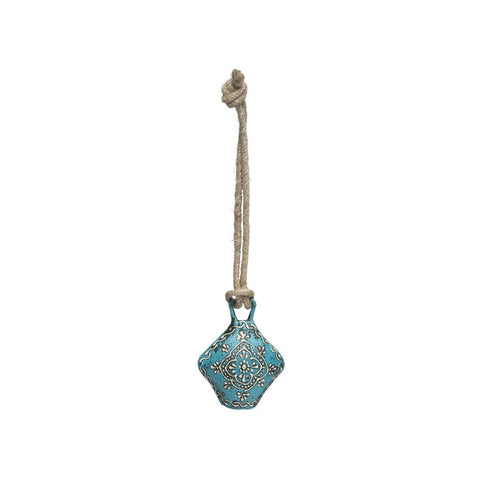 Henna Treasure Bell - Small Teal - Matr Boomie (Bell)