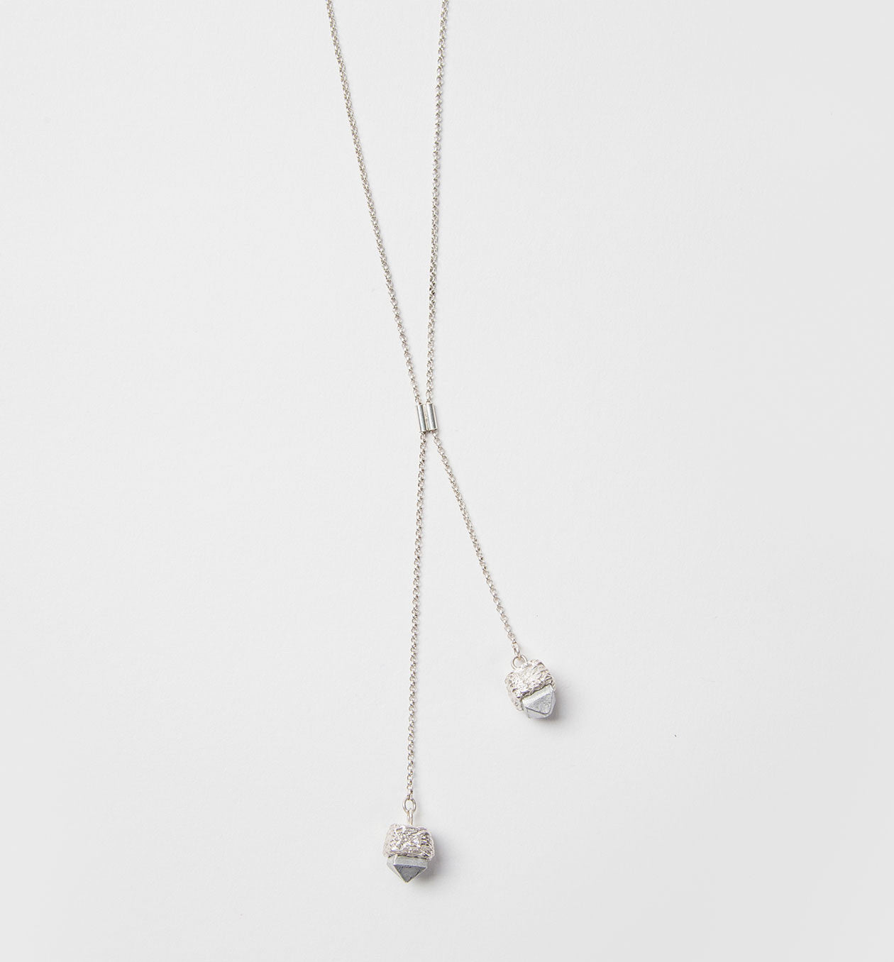 Ashes Stud Lariat Necklace
