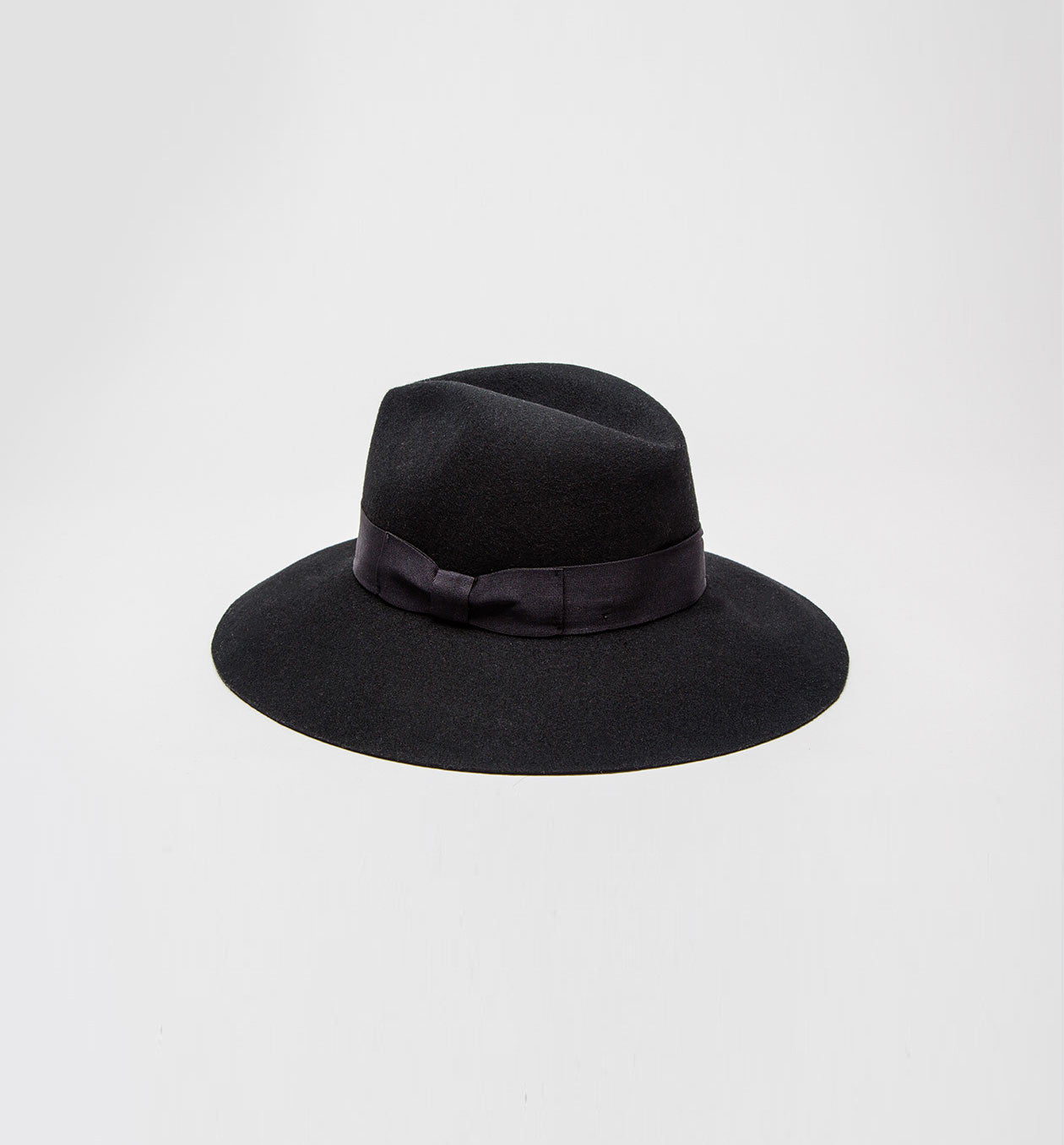 Felt Shade Hat Black