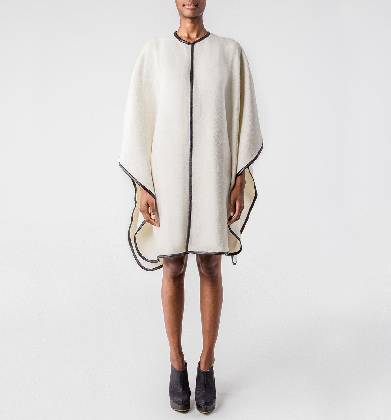 Exclusive Ivory Handwoven Cape