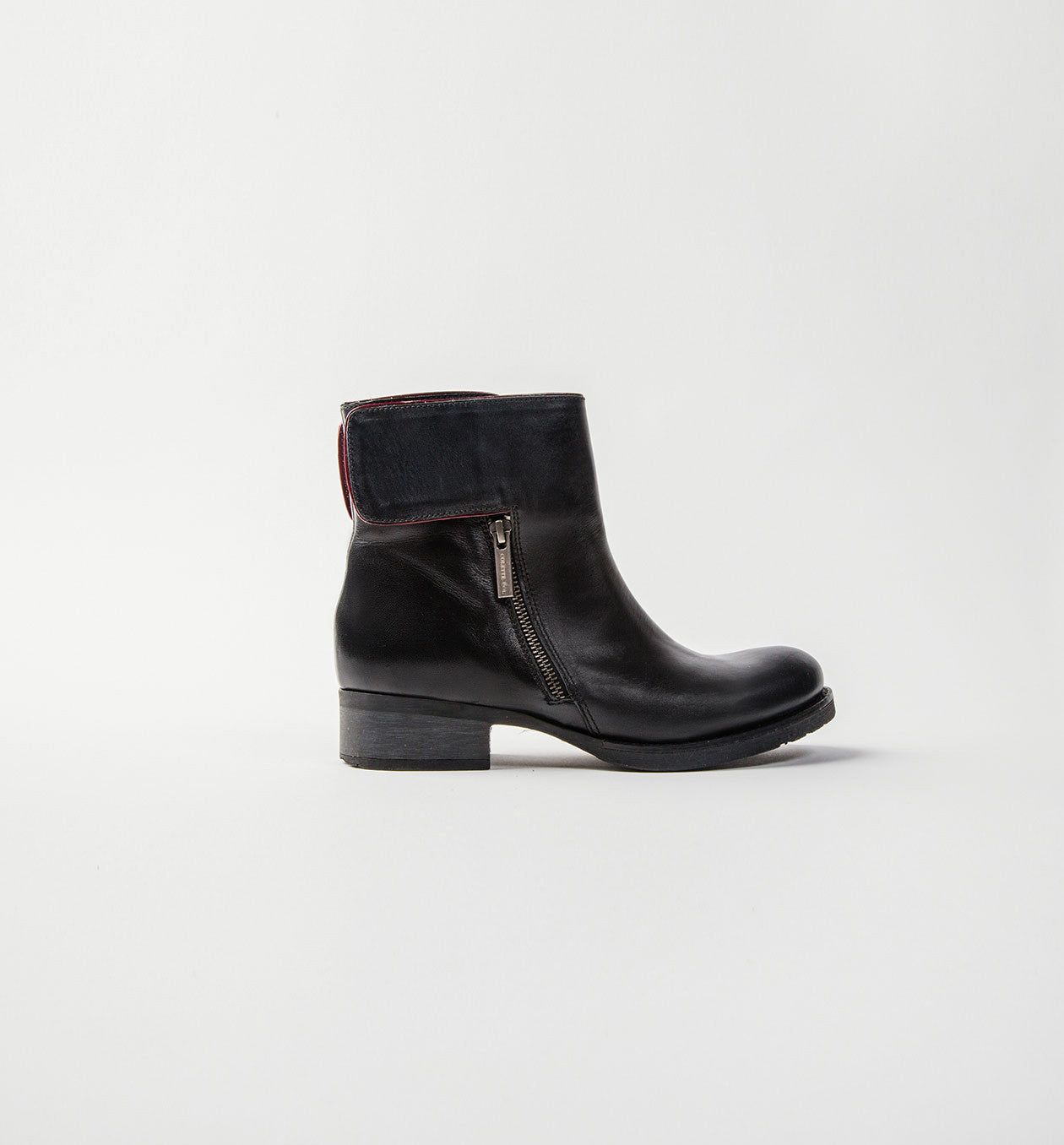 James Biker Boot Black
