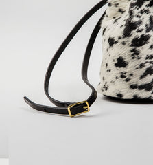 Salt & Pepper Cinch Bucketbag