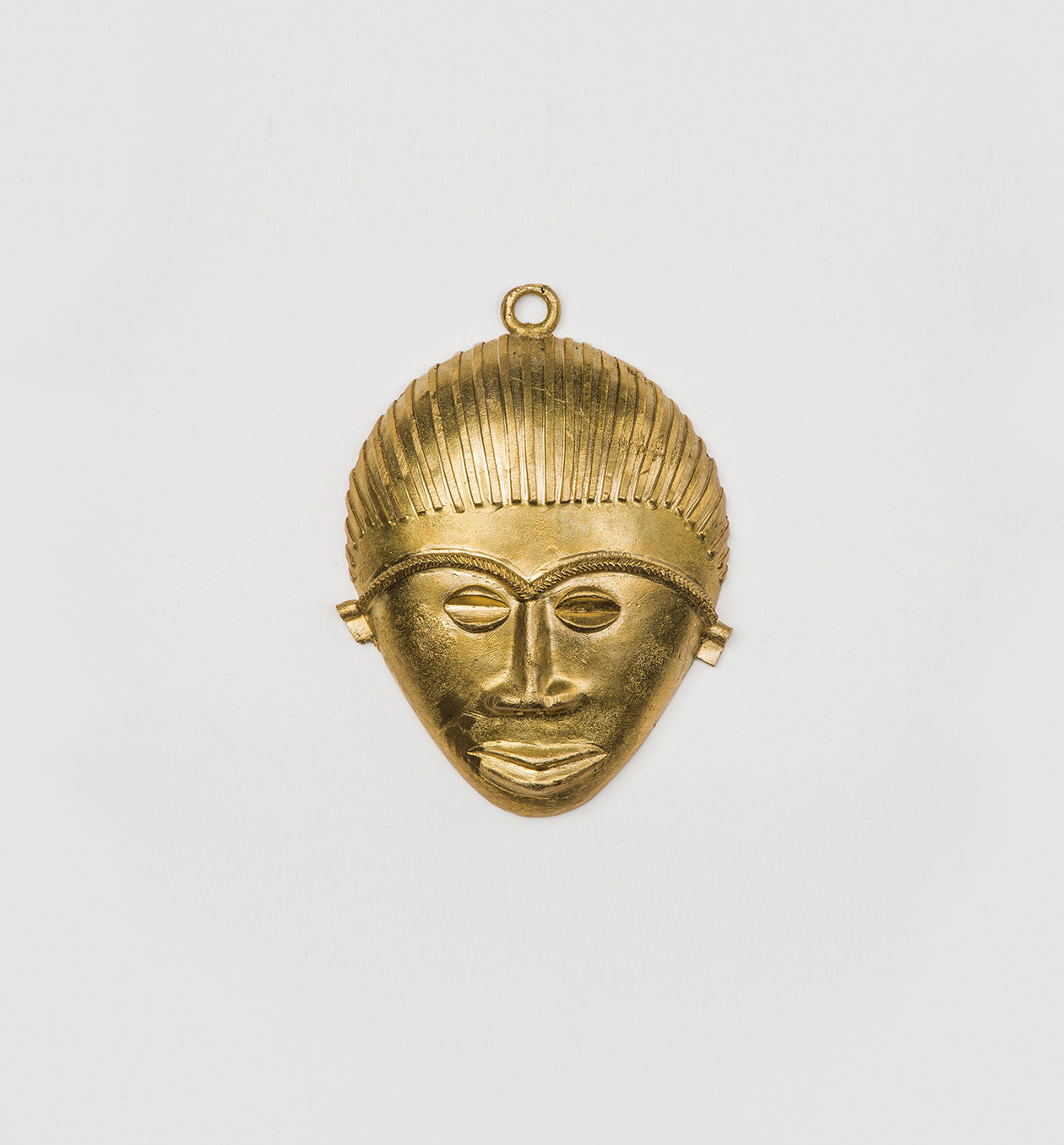 Handmade Brass Mask Decor