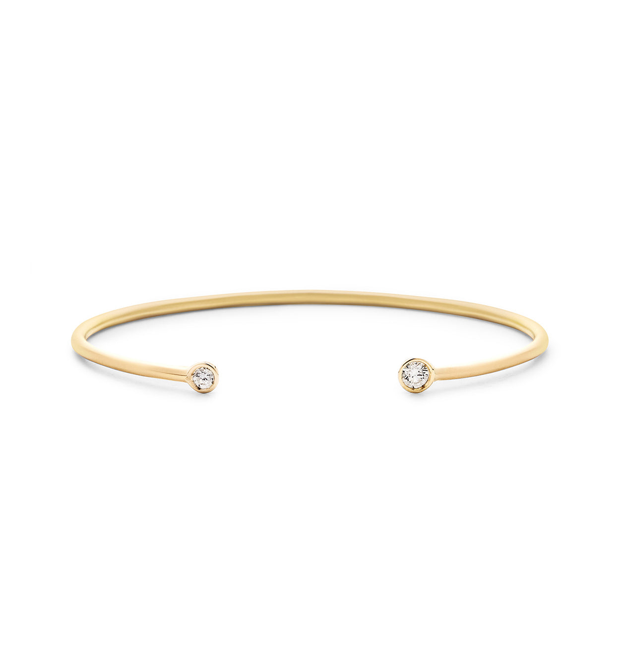 Double Diamond Open Cuff Matte