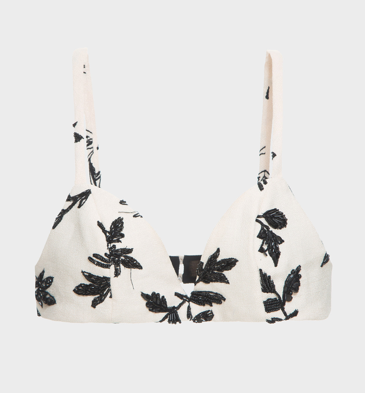 Panama Embroidered Bralette Top