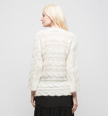 V-Neck Sweater Ivory