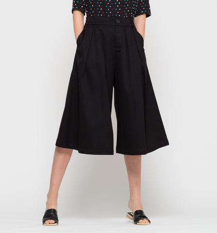 Harbour Culottes Black