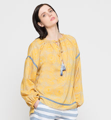 Makena Poet Shirt Yellow