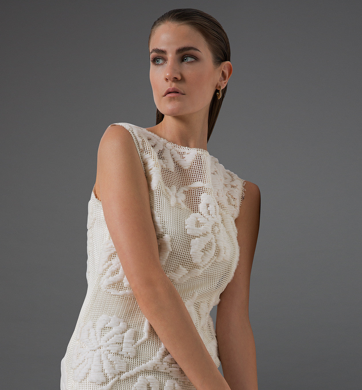 Remembered Lace Dress (White)