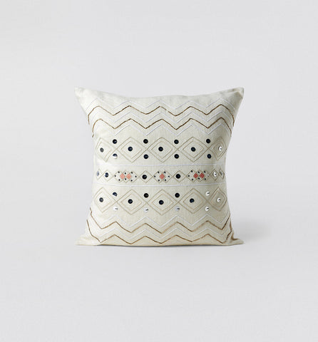 Coral Moroccan Wedding Pillow