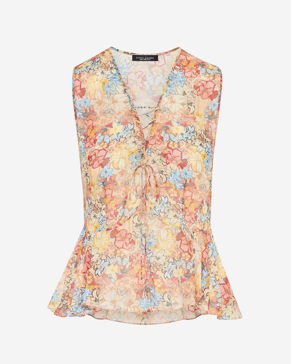 Penney Blouse - Psychedelic Floral