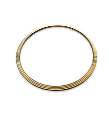 Hinged Oval Bangle Set