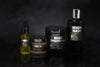 Grooming beard conditioner, beard balm, beard oil, and beard wash set