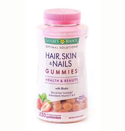 Nature's Bounty Gomitas Hair, Skin & Nails - 230 gomitas